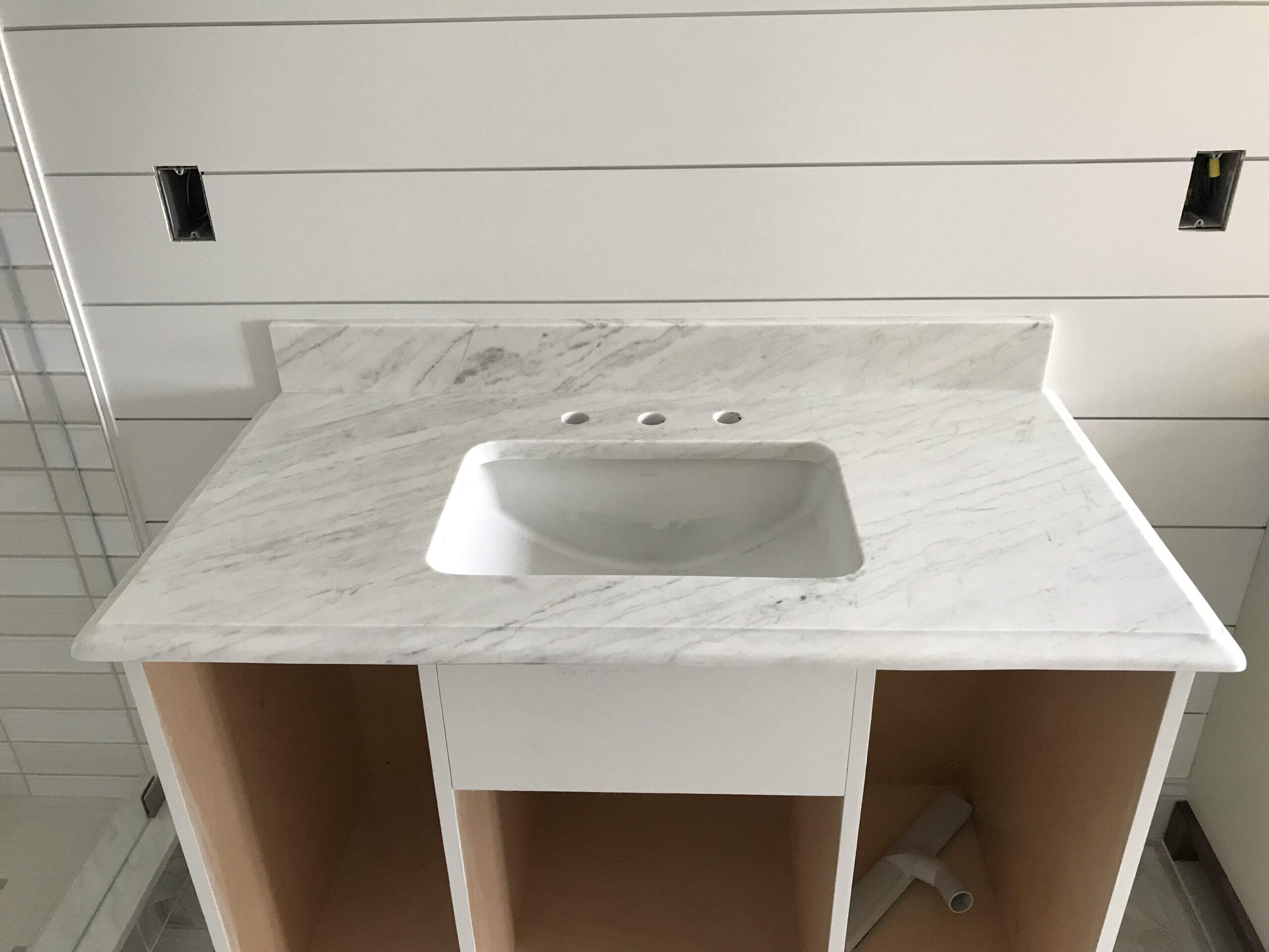 Marble - Work Portfolio - Fabrication and Installation -Natural Stone - Granite World - Harwich, MA