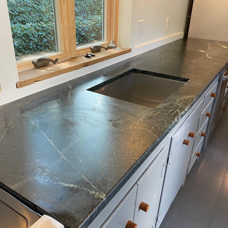 Soapstone - Work Portfolio - Fabrication and Installation -Natural Stone - Granite World - Harwich, MA