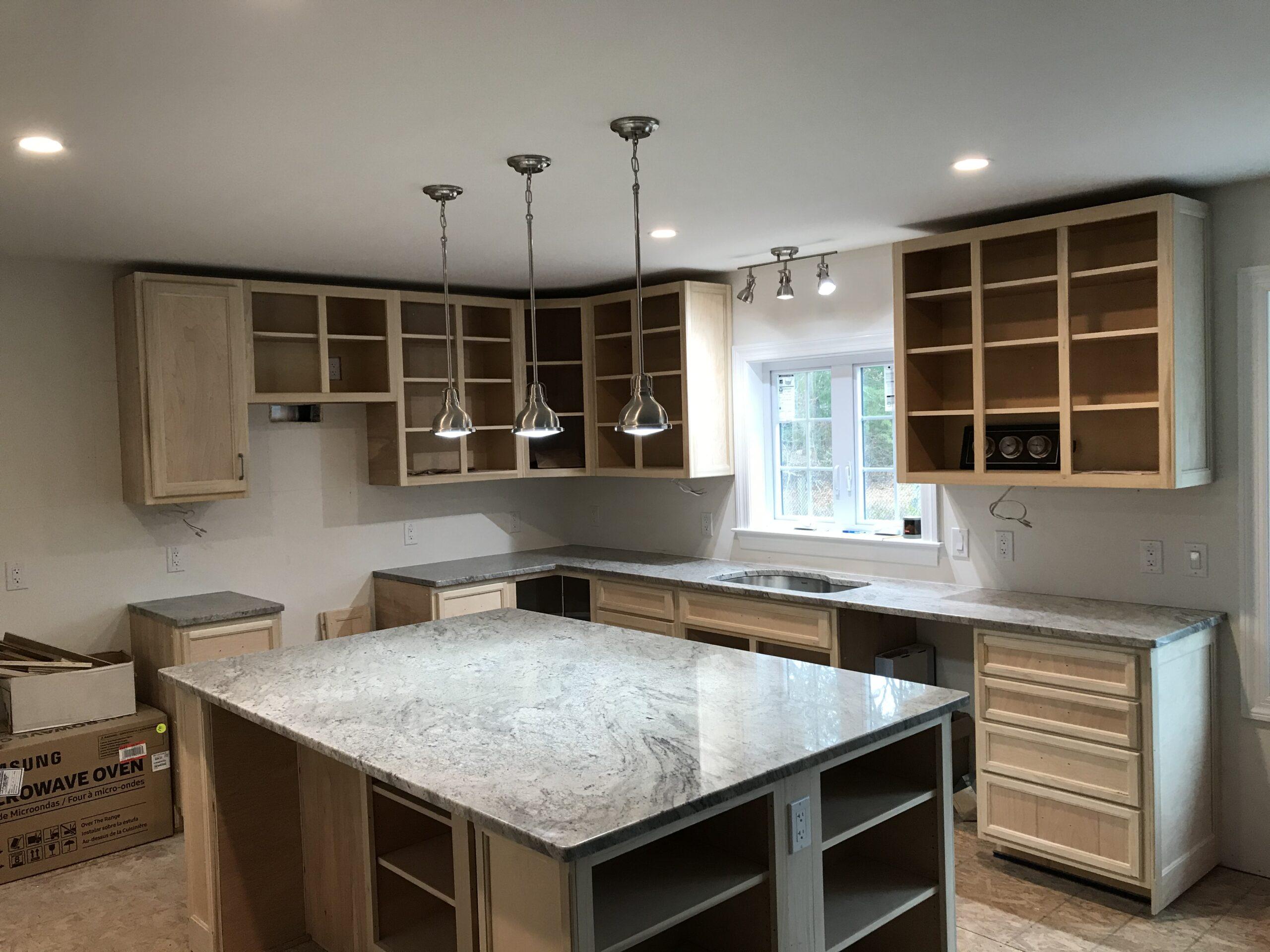 Granite- Work Portfolio - Fabrication and Installation -Natural Stone - Granite World - Harwich, MA